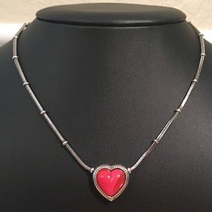 Brighton Pink Heart Necklace